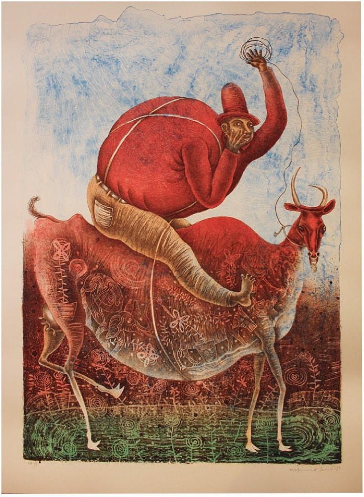 Domador de Cabra